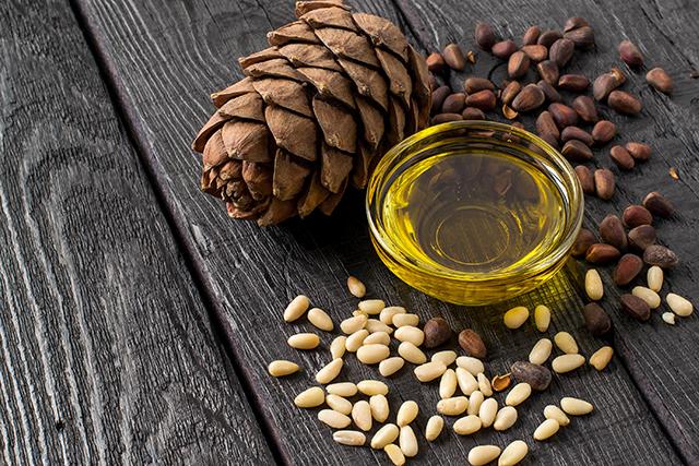 Pine seed oil
